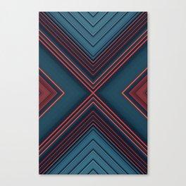 Gas Tubes Canvas Print