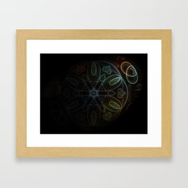 Towards the Light Framed Art Print