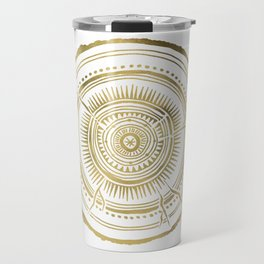 Quaking Aspen – Gold Tree Rings Travel Mug