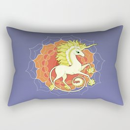 Vendel Unicorn - the sun Rectangular Pillow