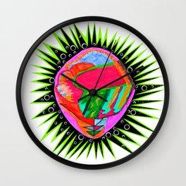 Porcupine Eye Wall Clock