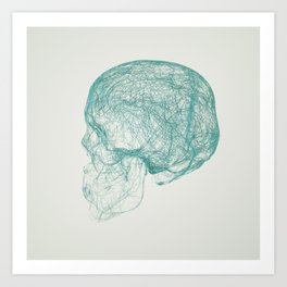 skull trails Art Print