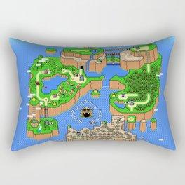 The World of Super Mario Rectangular Pillow