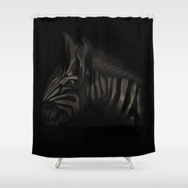 The Forlorn Beast Shower Curtain