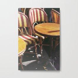 Paris Sun Metal Print