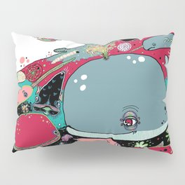 whale narwhal hammerhead shark sealife Pillow Sham