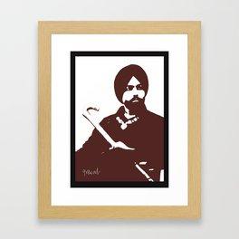 Ammy Virk Framed Art Print