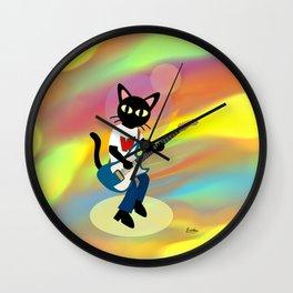 Guitarist Whim Wall Clock