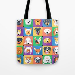 Facedogs Tote Bag