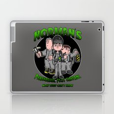 Norman's Paranormal Pest Control Laptop & iPad Skin