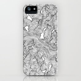 Enveloping Lines iPhone Case