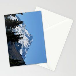 Snow Cap on the Mountain Stationery Cards