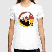 lunar T-shirts featuring Solar & Lunar by Tummeow