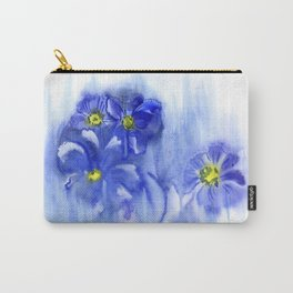 Watercolor illustration. The composition of delicate flowers. Carry-All Pouch