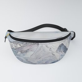 Spring  on Mount Sopris Fanny Pack