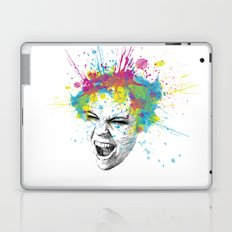 Crazy Colorful Scream Laptop & iPad Skin