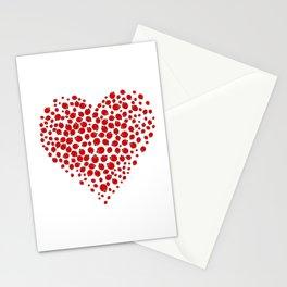 Ladybug heart Stationery Cards