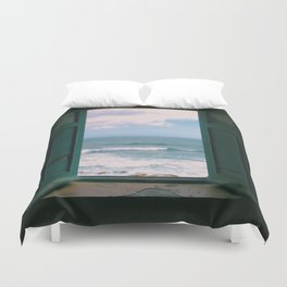 Atlantic Morning Duvet Cover