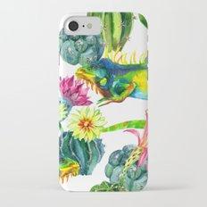 Thorn Flowers iPhone 8 Slim Case
