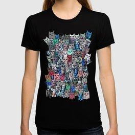 Gemstone Cats RGB T-shirt