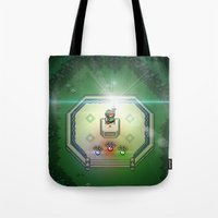 sword Tote Bags featuring Master Sword by VGPrints