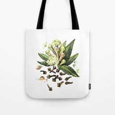 Watercolor Clove Tote Bag