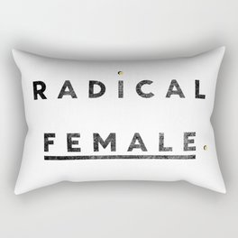 Radical Female Rectangular Pillow