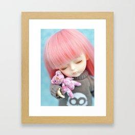 Tiny Bear Framed Art Print