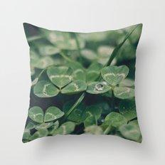 Happy St. Patrick Throw Pillow