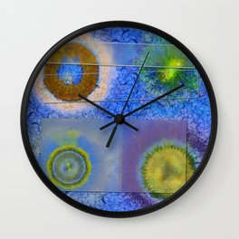 Unparalysed Unconcealed Flowers  ID:16165-032529-06851 Wall Clock