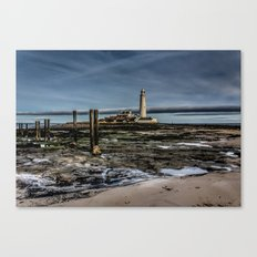 Across the Beach Canvas Print