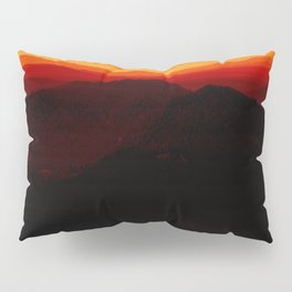 Red Horizon, Fire in the Distance. Pillow Sham