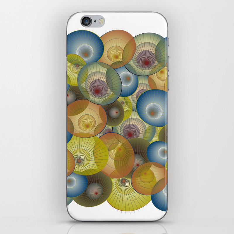 Parasols Iphone & Ipod Skin by Dancingbird (PSK9951329) photo