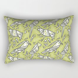 Spirit Animals Rainforest - Frogs - Alligators - Parrots Rectangular Pillow