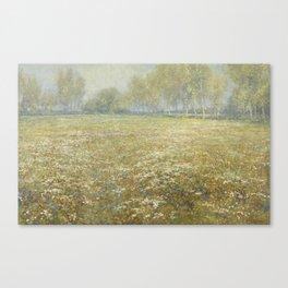 Meadow in Bloom, Egbert Rubertus Derk Schaap, 1913 Canvas Print