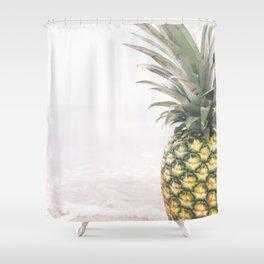 Pineapple Beach Shower Curtain