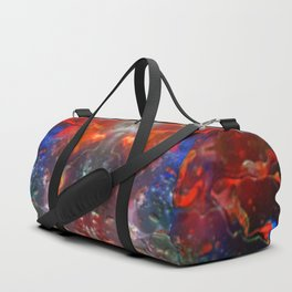 Abstract Meditating Time Duffle Bag