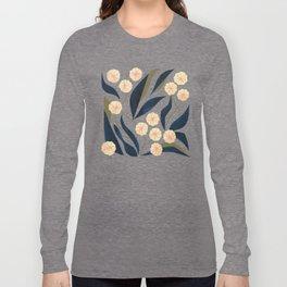 Green Floral Long Sleeve T-shirt