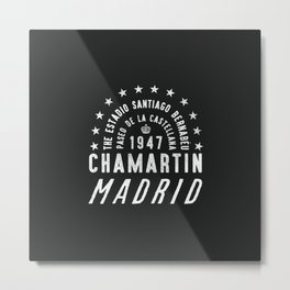 Madrid Football Ground Metal Print