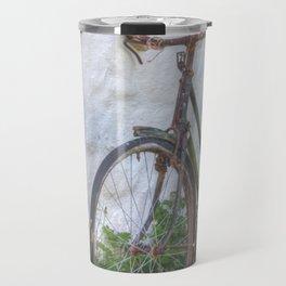 Old time bicycle, Ireland Travel Mug