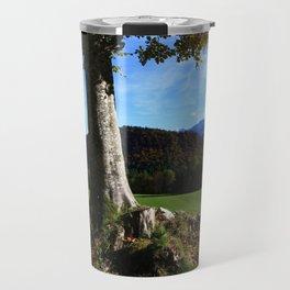 Alpine tree Travel Mug