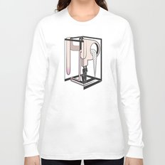 lady at the mirror Long Sleeve T-shirt