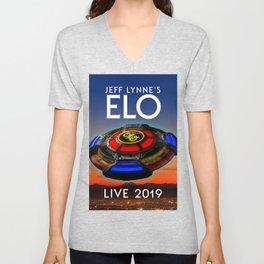 Jeff Lynne's ELO tour 2019 sule1 Unisex V-Neck