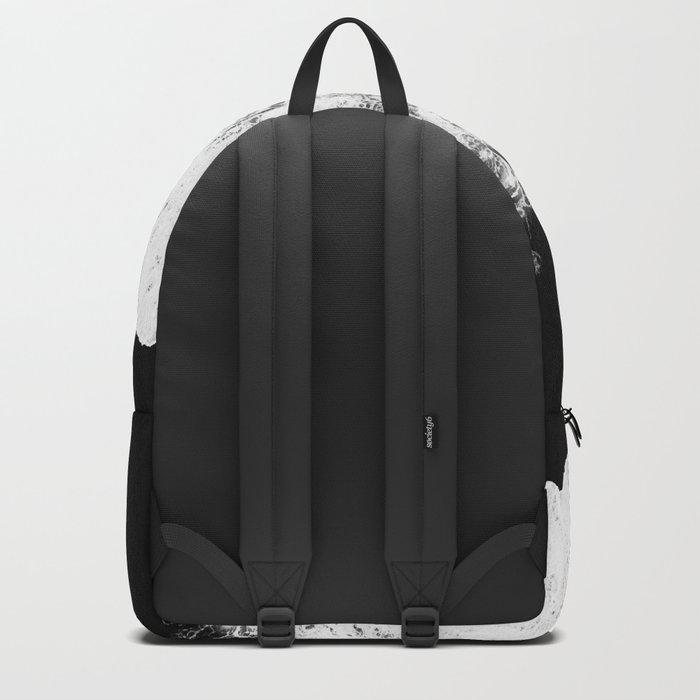 Splash in rocks Backpack