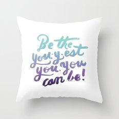You - Inspiration Print Throw Pillow