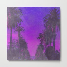 Tropical Nights Metal Print