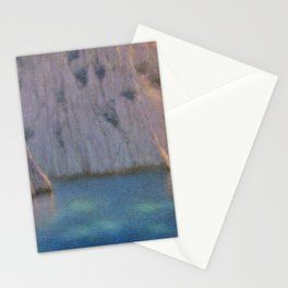 Calanque (Six in the Evening) Twilight by Lucien Lévy-Dhurmer Stationery Cards