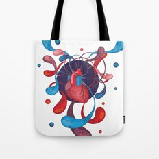 The Bass Heart Tote Bag