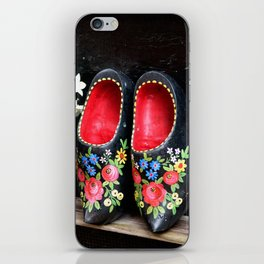 Clogs and te flowers iPhone Skin