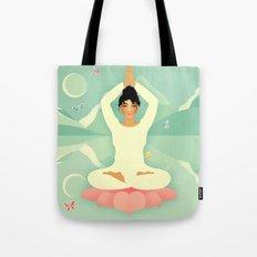 Sacred World: Yogini Tote Bag